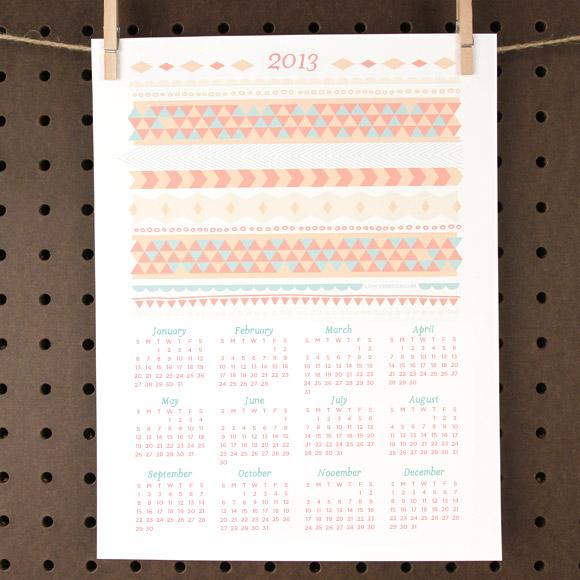 2013 calendar 1 #thingsdeeloves