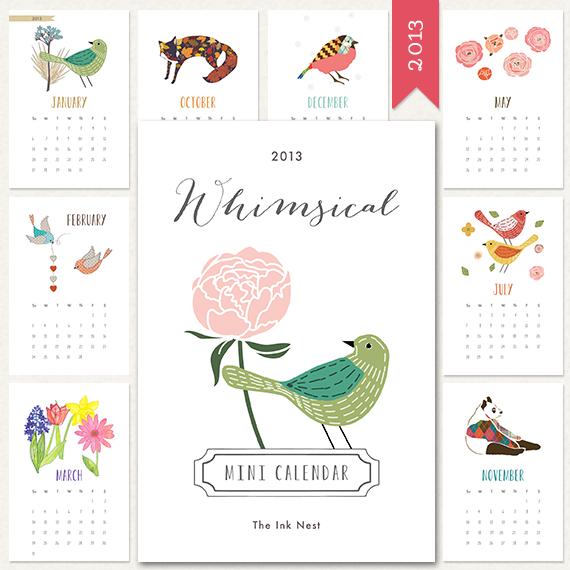 2013 calendar 6 #thingsdeeloves