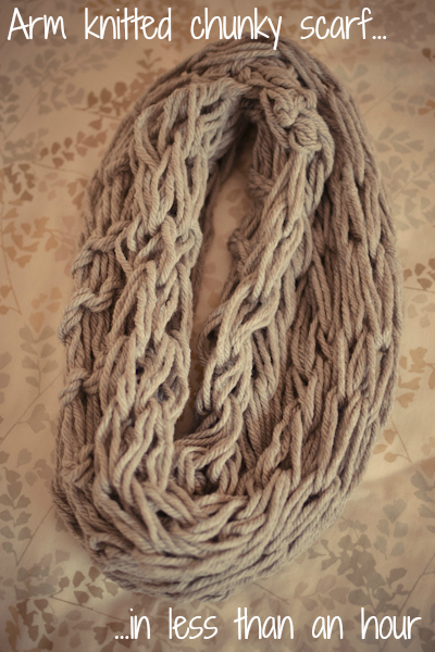 arm knitted scarf #thingsdeeloves -2
