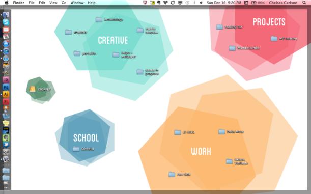 loving an organised desktop #thingsdeeloves 4
