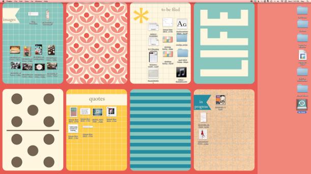 loving an organised desktop #thingsdeeloves 5