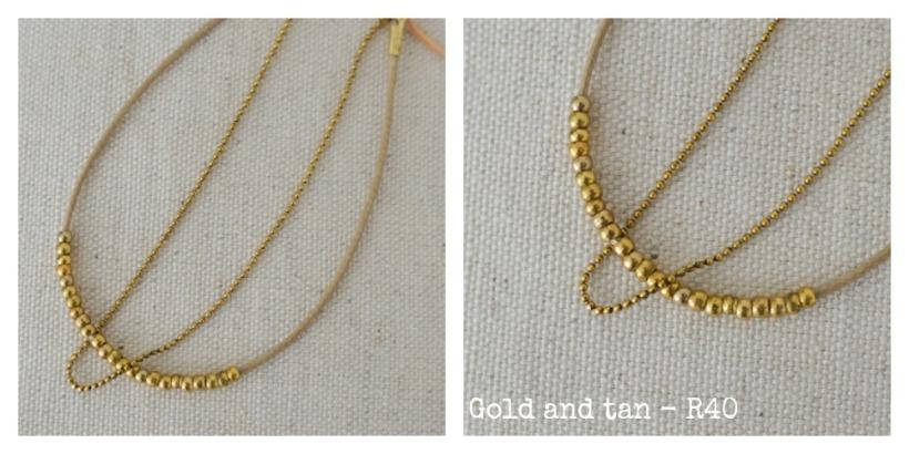 gold & tan