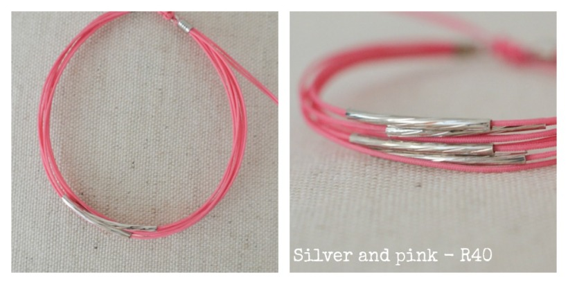 silver & pink